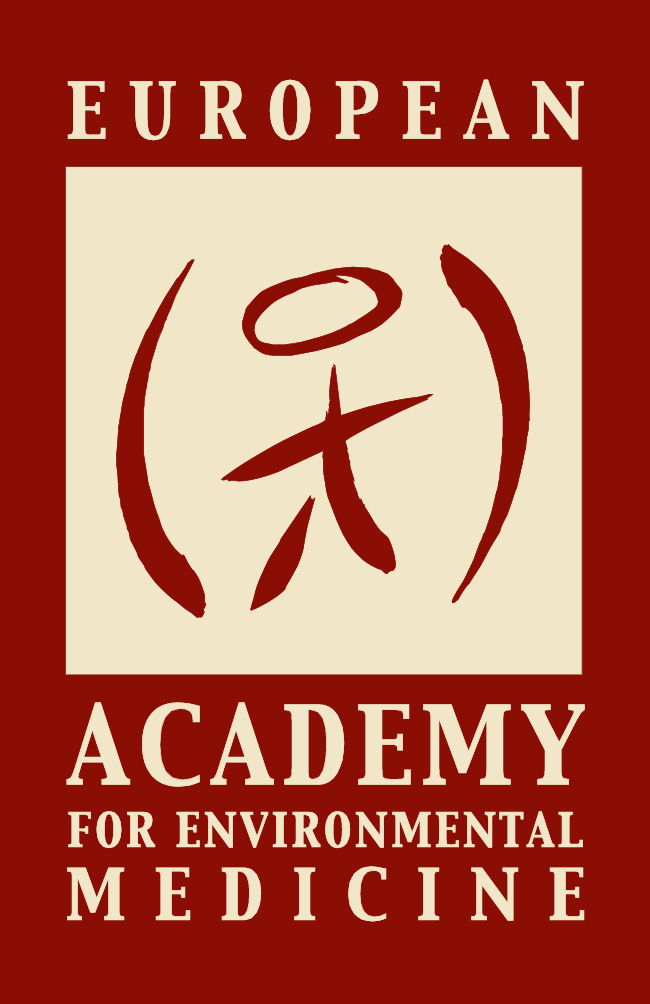 EUROPAEM graphical logo, stylised, shows human embedded in environment, looks similar to Chinese character for human being